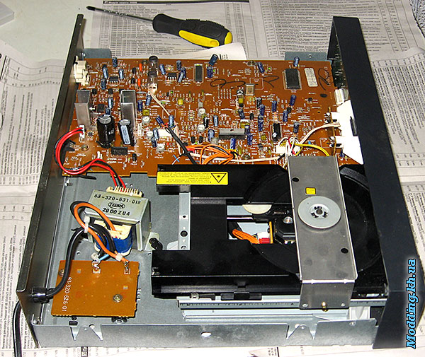 AIWA DX-M75Z Inside